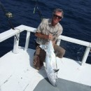 J.E.P.R. with a dogtooth tuna.