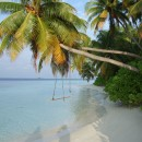 Maldive beach.