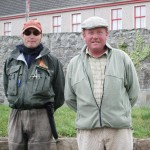 Chris Ryan & Declan Hughes, Cathedral Beat, River Moy. Aug 2010