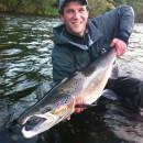 Eoin's 20lb cock salmon.