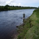 Chris on the Moy